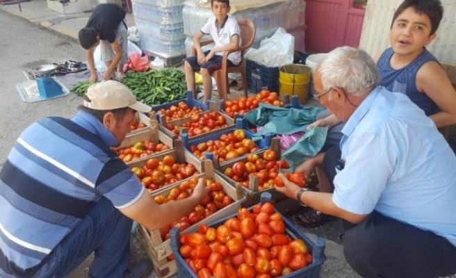 Yavuzeli'de doğal sebzeler beklenen ilgiyi görmüyor