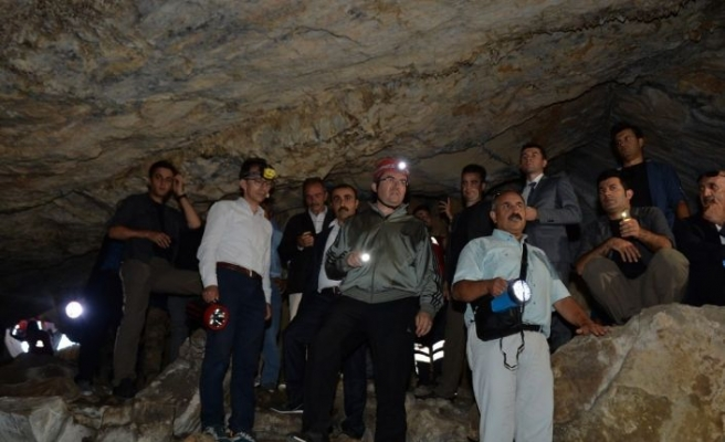 Erzurum'da mağara turizmi canlandırılacak