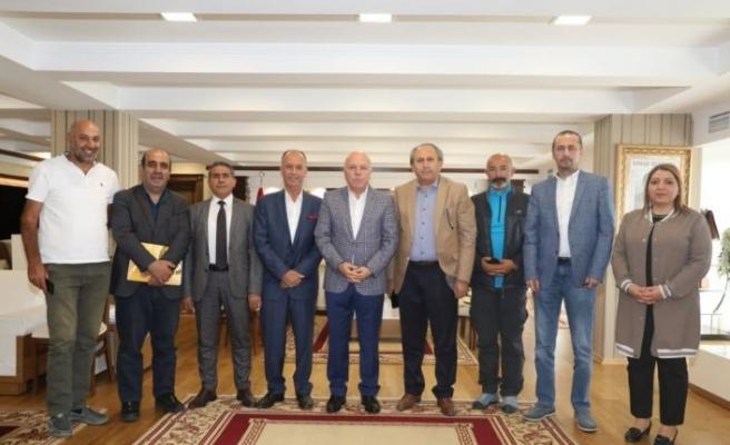 DAGC'den Başkan Sekmen'e ziyaret