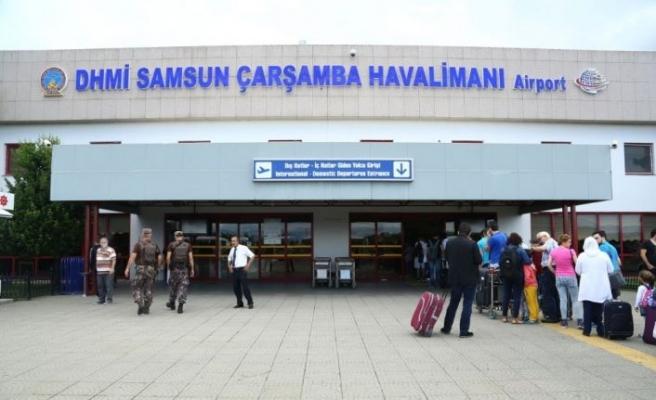Samsun Uluslararası Havalimanından 142 bin 449 yolcu hizmet aldı