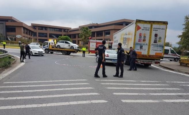 Zincİrleme kazada 5 kişi yaralandı