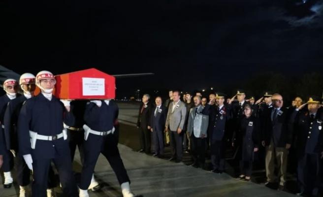 Şehit Uzman Çavuş Bilgen'in naaşı Bozüyük'e uğurlandı