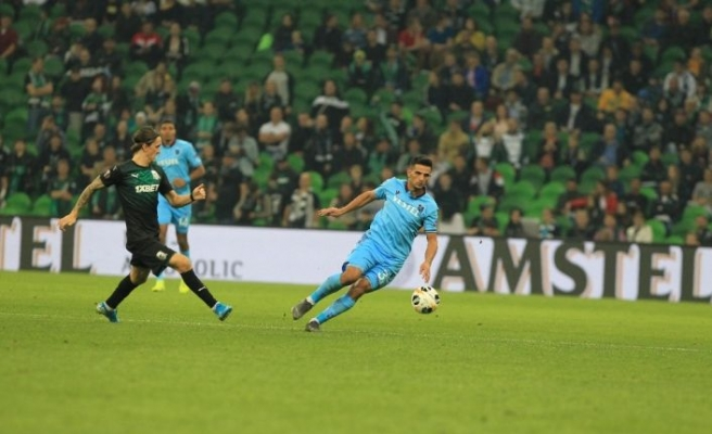Trabzonspor UEFA'da kayıp