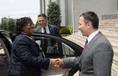 Tanzanya Ankara Büyükelçisinden, ERÜ Rektörü Çalış'a Ziyaret
