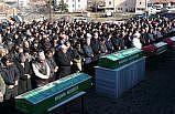 Kırşehir'de kazada hayatını kaybeden aile son yolculuğuna uğurlandı