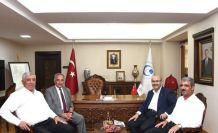 Adana Valisi Demirtaş'tan Rektör Turgut'a ziyaret