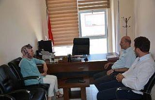 Başkan Bozkurt'tan KYK Müdürlüğüne ziyaret