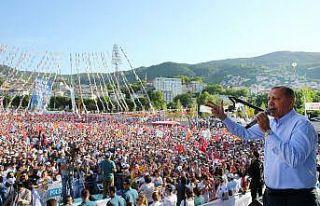 Cumhurbaşkanı Erdoğan Bursa'ya geliyor