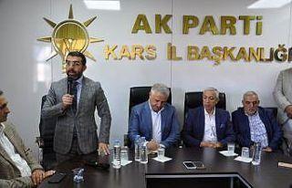 AK Parti Kars İl Başkanlığı'nda bayramlaşma