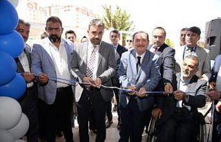 Engelliler Sosyal Tesisinin açılışını Başkan...