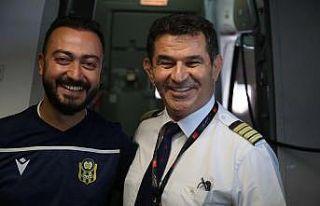 Sırbistan'a giden uçağın Malatyalı pilotundan...