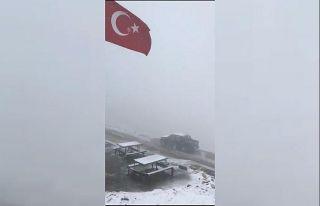 Doğu Karadeniz'in yüksek kesimlerine mevsimin...