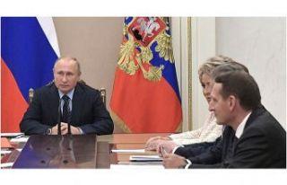 Putin, Suriye gündemiyle Güvenlik Konseyi üyelerini...