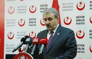 """BBP Genel Başkanı Destici: """"Kuzey Suriye'de..."""