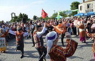 Didim 4. Zeytin Festivali renkli görüntülerle başladı
