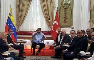 Maduro'dan Türk ihracatçısına tam destek
