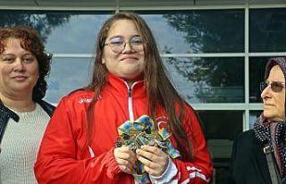 """Avrupa Şampiyonu Aleyna Kaymaz: """"Hedefim olimpiyat..."""
