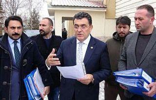 Başkan Demir, ihalelerle ilgili suç duyurusunda...