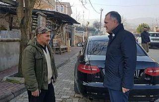 Başkan Taban'dan mahalleyi temizleyen gönüllü...