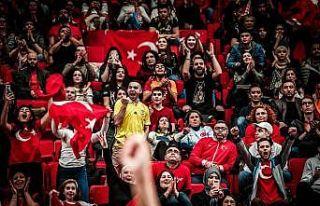FIBA 2021 EuroBasket Elemeleri'ne Türk taraftarlardan...