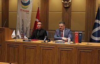 Anadolu Üniversitesi ile Türkiye TT Hotels Turkey...