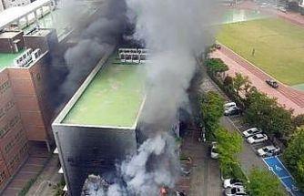 Güney Kore'de ilkokulda yangın: 2 yaralı