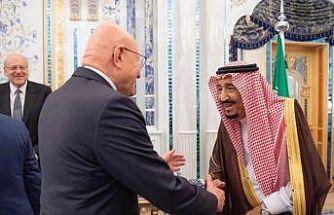 Lüban'ın eski eski başbakanlarından, Kral Selman'a ziyaret