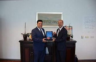 Başkan Recep Bozkurt'tan İlbank Genel Müdürlüğü'ne ziyaret