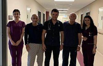 Elazığ'da 2 hastanın kalp kapağı ameliyatsız değiştirildi