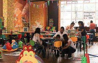 Kolombiya'nın Armenia şehrinde barışın tesisi programına ekipman desteği