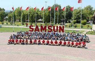Samsun'da 30 bini aşkın kişi sporla buluştu