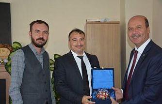 Başkan Bozkurt'tan Başkan Saçkan'a ziyaret