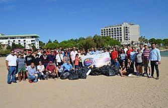 Dünya Temizlik gününde Didim'de çevre temizliği yapıldı