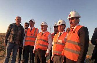 Kars milletvekilleri Arslan ve Kılıç, Sarıkamış-Horasan yolunu inceledi