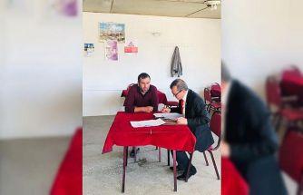 Şuhut İlçe Özel İdare Müdürlüğü, köy, kahve ve bakkallar denetledi