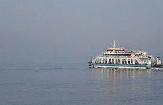 Çanakkale Boğazı yoğun sis nedeniyle transit gemi geçişlerine kapatıldı
