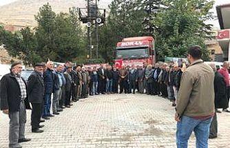 Niğde'den Barış Pınarı Harekatı'nda görev alan askerlere elma