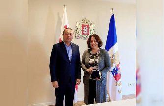 İsmail Ahmedov'dan Gürcistan'da önemli görüşmeler