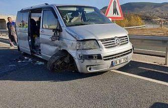 Kastamonu'da trafik kazası: 6 yaralı
