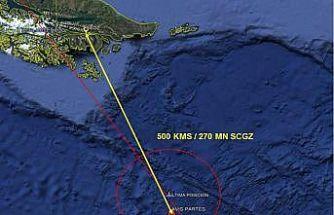 Şili'de kaybolan C-130 kargo uçağıyla ilgili yeni gelişme