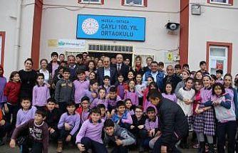 Başkan Uzundemir okul ziyaretlerini tamamladı