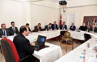 İlçe Milli Eğitim Müdürleri Komisyonu toplantısı yapıldı
