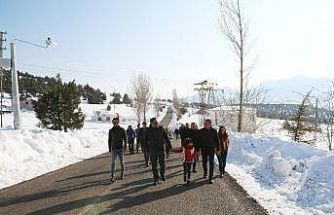 Mersin'de bir ilk: Toroslar'ın zirvesinde Kar Festivali