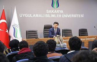 SADEM öğrencileri, SUBÜ Rektörü ile bir araya geldi
