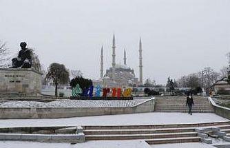 Edirne'ye 'kar' uyarısı