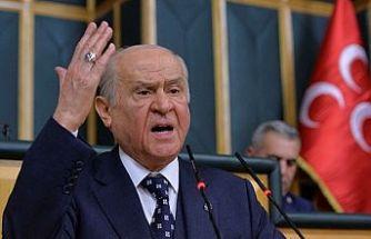 """MHP Genel Başkanı Bahçeli:""""İhanet kadrosunun üçüncü yolu uçurumdur. Bunlardan ne yol olur ne de kasaba."""""""