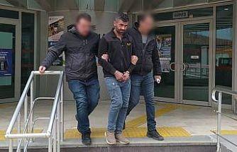 Otomobilinde 500 gram metanfetamin bulunan şüpheli tutuklandı
