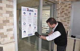 Afyonkarahisar OSB'de korona virüse karşı farkındalık çalışması