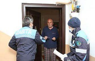 Bolu Belediyesi 65 yaş üstü vatandaşlar için seferber oldu
