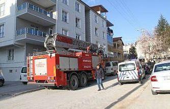 Elektrik panosundaki yangın büyümeden söndürüldü